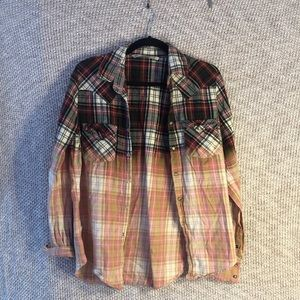 Multicolored flannel shirt from Zara
